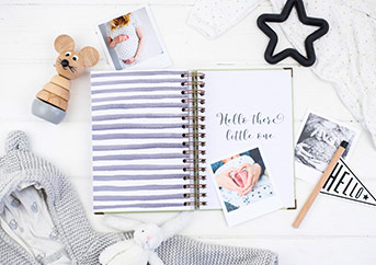 month by month baby memory book