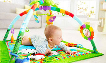 Are activity mats good for babies