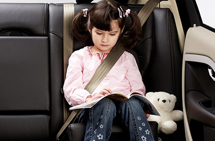 When is the right time for a child to Go Into a Booster Seat?