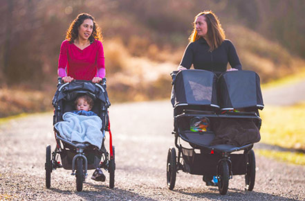 Types of strollers and how many you need to buy