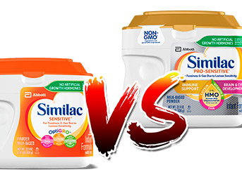 Similac Sensitive Vs Pro Sensitive
